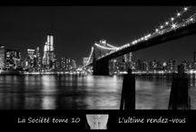 La Société T10 : Paris - New York / by Angela Behelle