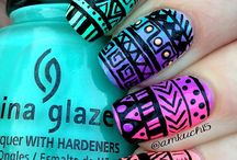 Nails / Lots of different pretty and easy nail designs to try!