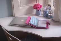 Rincón para escritorio y manualidades