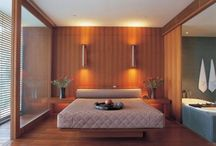 Japanese Bedroom Designs / Have you ever thought to use the master bedroom decorating ideas from Asian countries? Japanese Modern and Futuristic master Bedroom Design, has many advantages and loved by many people in the world. The style is simple, modern and practical but still has a high artistic value. The Size of bedroom Japanese style is not so vast and costly decorations.