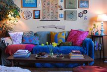 Colors and Eclectic / Diverse, eclectic, kitschy, even wacky... Fun!