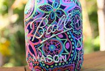 Mason Jar Crafts / by Hailey Nigro