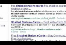 Shabbat Shalom eCards / Shabbos is also known as the Jewish Sabbath. It begins each and every Friday at sundown. Shabbos is one of those things that one can be sure of. It is a time of rest, reflection and rejuvenation. One of the Greetings one shares on Shabbos is Shabbat Shalom.  Another greeting is Gut Shabbos.  For FREE Shabbat Shalom eCards & FREE Gut Shabbos eCards ~visit http://www.SayItWithEcards.com (right column)