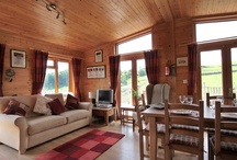 Hipley Log Cabin / Luxurious 4 Star Gold self catering log cabin on a working farm in the spectacular Peak District countryside