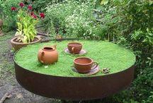 Fantasy garden.