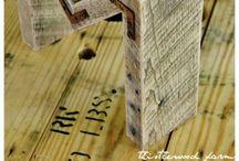 ciekawe z drewna z odzysku