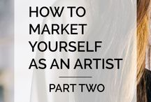 Business & Money Tips for Artists / Help and advice on running an art or creative business, making and managing money, and selling your art