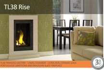 Vision Trimline Trimmed Gas Fires / Vision Trimline fires offer a sense of true minimalist beauty. However, if your home style dictates, there can sometimes be a requirement for a little more flare – even extravagance! To address this, we have created a range of frames and fireplaces that have a certain synergy with our fires. Sharing the same design ethos and manufactured to the same high standards, we have crafted a range that includes a variety of materials with a wonderful, natural beauty.