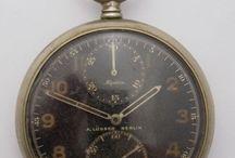 vintage pocket + dash watch