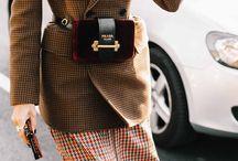 Vestes à carreaux - Checked blazer
