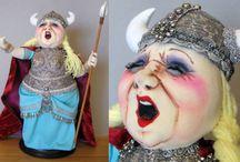 Cloth doll Designs by Arley Berryhill