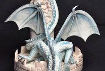 bolo de Dragão