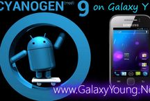 CyanogenMOD 9 / by Ultimate Resource for your Samsung Galaxy device | ROMs, MODs, TWEAKs www.GalaxYYounG.Net