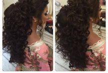Weeding Hair style and Make up