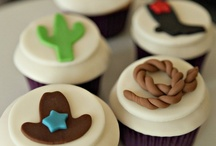 Cowboy cup cakes