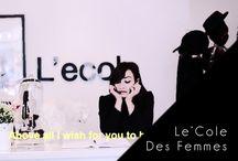 L'école Des Femmes / L'école Des Femmes clothes and spotting people who are wearing her clothes!