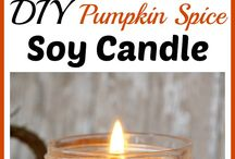 Scents candles