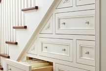 Under Stairs Storage Solutions / Maximizing space in homes, utilizing under stairs storage space