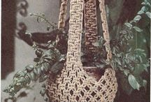 macrame hangings