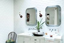 sinks + bathrooms
