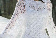 Вязанье Блузы Пуловер крючком