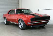 Dream Machines / Muscle cars I dream of.