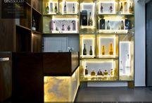 EMMANUEL MODE BAR - Interior design di lusso e contrasti materici