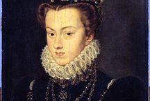 84/Queen Elisabeth d'Autriche 1554-1592