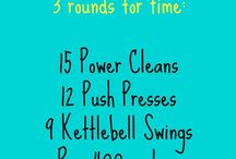 WODs / CrossFit workouts / by Jo