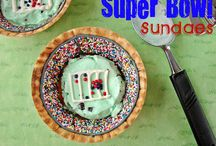 About About the Big Game / Sports-related activities, snacks, and recipes. Appetizers and meals for watching the Big Game