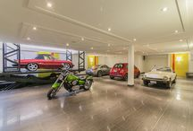 Auto Enthusiasts - Places to Park / Pull your bat mobile (or other personal automobile) into these super cool garages.