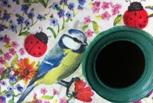 Decoupage clarita  / Handmade art
