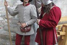 Man Costumes end of xvth century