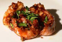 Tiger Prawn Dish