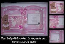 Handcrafted Commissioned Greetings/Keepsake Cards #Commission