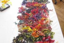 scarp yarn art