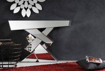 Consolas para Recibidores / Ideas y propuestas para los recibidores y entraditas con originales consolas
