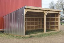 sheds / by Les Bouton