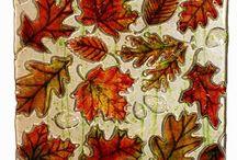 Autumn Season Art Glass Supplies