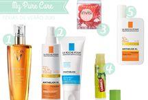 Sugestões My Pure Care / A minha selecção de produtos da loja online My Pure Care