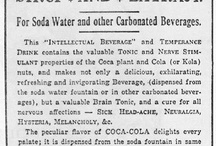 Coca Cola as Medicine / Pharmaceutical