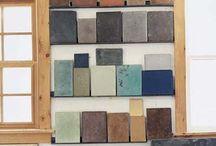 Concrete / Inspirational concrete surfaces and constructions.