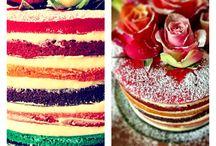 Rainbow cakes / Fun cakes