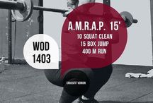 WODs and workouts