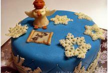 Naše dorty/Marzipan cakes