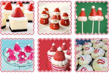 Christmas food ideas / Santa cakes