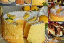 ricette chiffon cake
