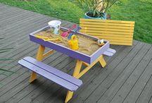 sand box table