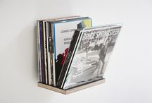 Vinyl Record Storage by Rath&Stok / Danish design furniture - This is DISPLAYY, our version of storage for vinyls. Go to www.rath-stok.dk for more information.