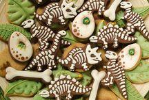 biscotti dinosauri